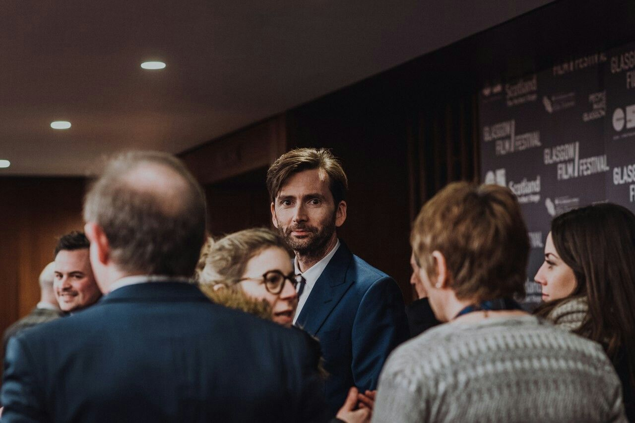David at the Glasgow Film Festival