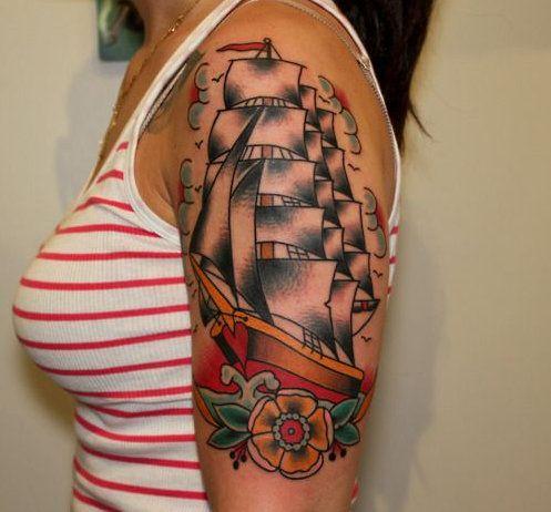 Caravel Tattoos