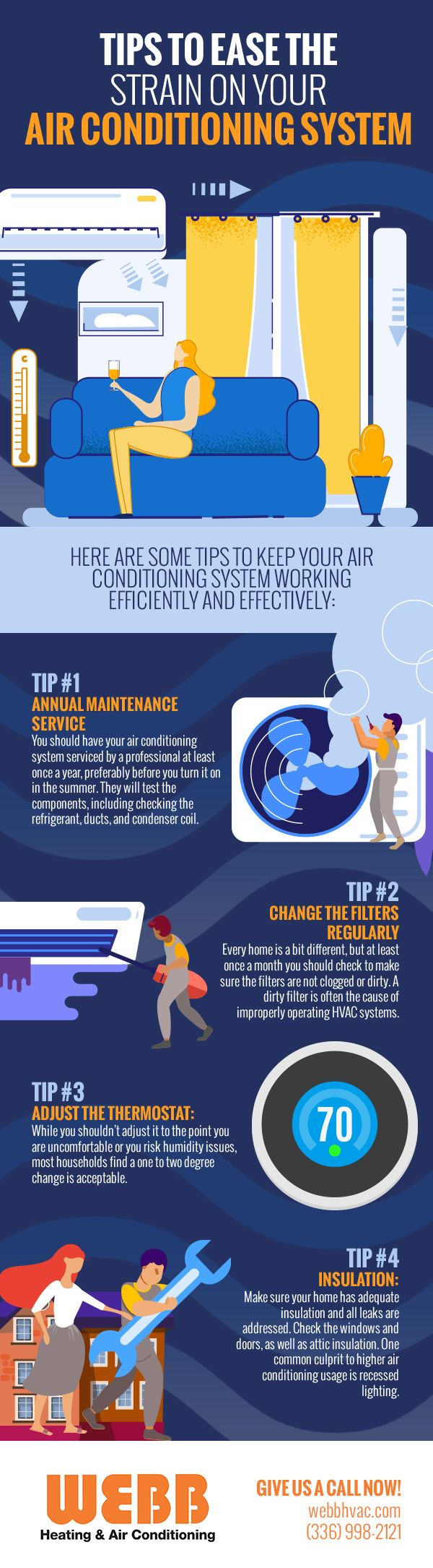 Tips to Ease the Strain on Your Air Conditioning System