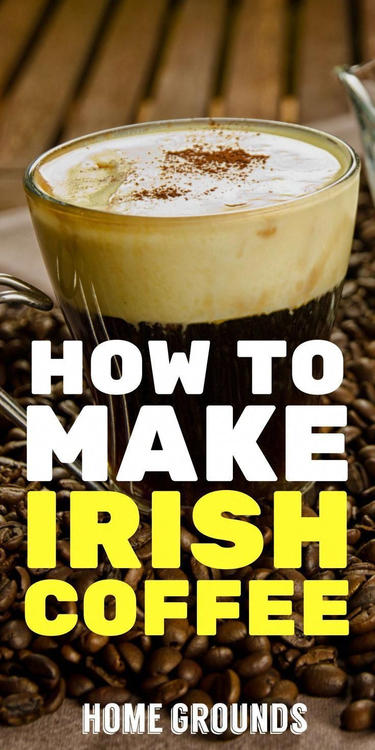 Irish coffee is a great way to celebrate a holiday, or