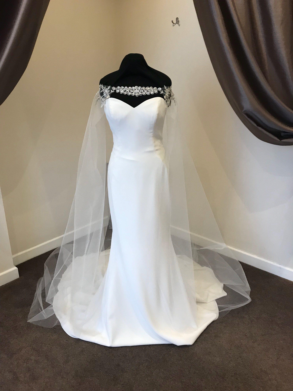 26+ Wedding dress with cape off shoulder info