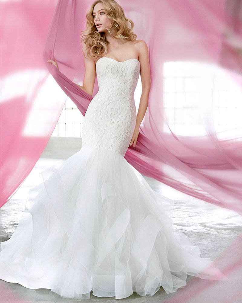 Find More Wedding Dresses Information about Bealegantom Sexy ...