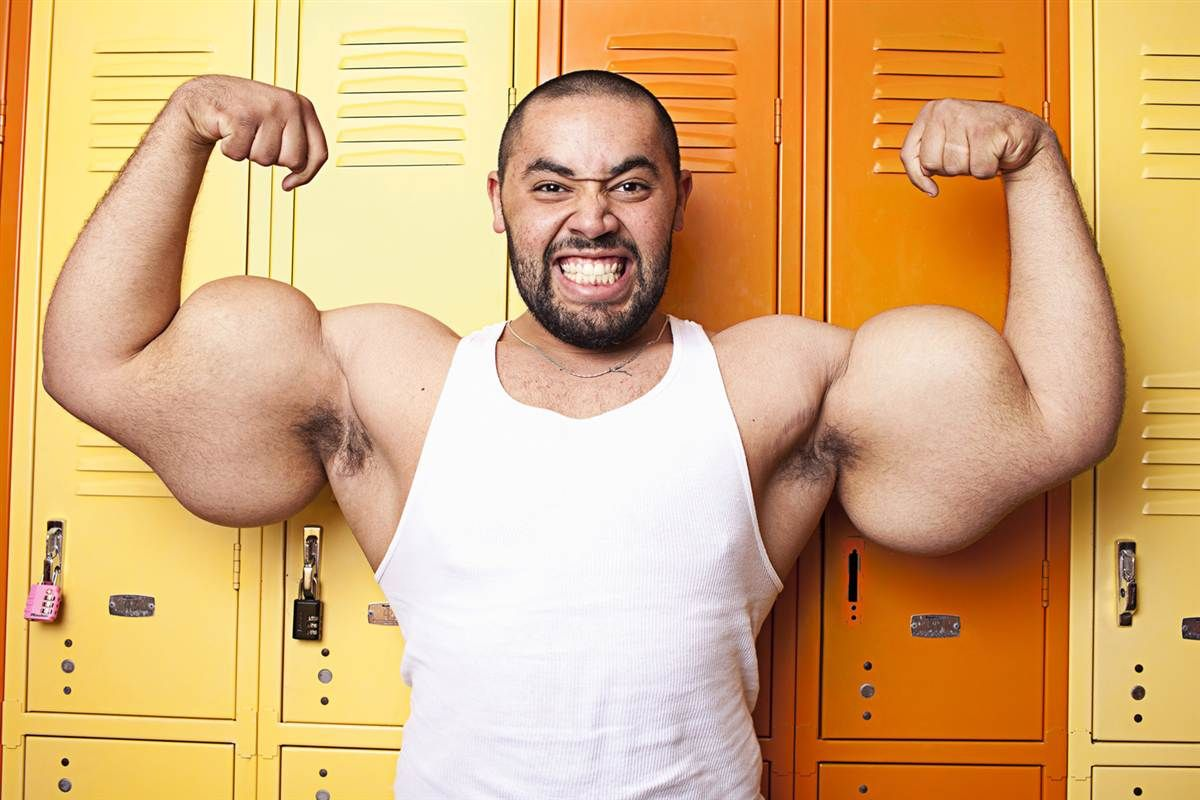 The largest biceps in the world belongs to whom 61