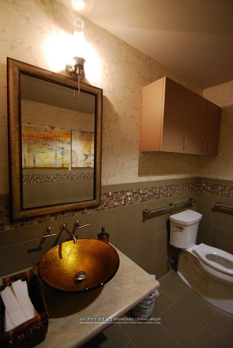 office design group. Dental Office Restroom- EnviroMed Design Group