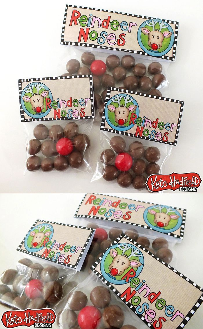 picture about Reindeer Noses Printable named Reindeer Noses printable Xmas bag toppers Xmas
