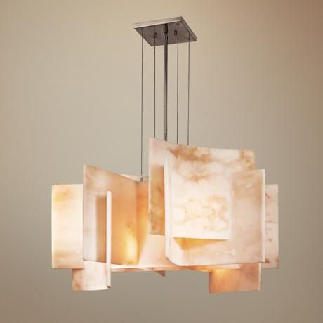 Could be an interesting choice for the dining room 1350 so you – Alabaster Lighting Chandeliers