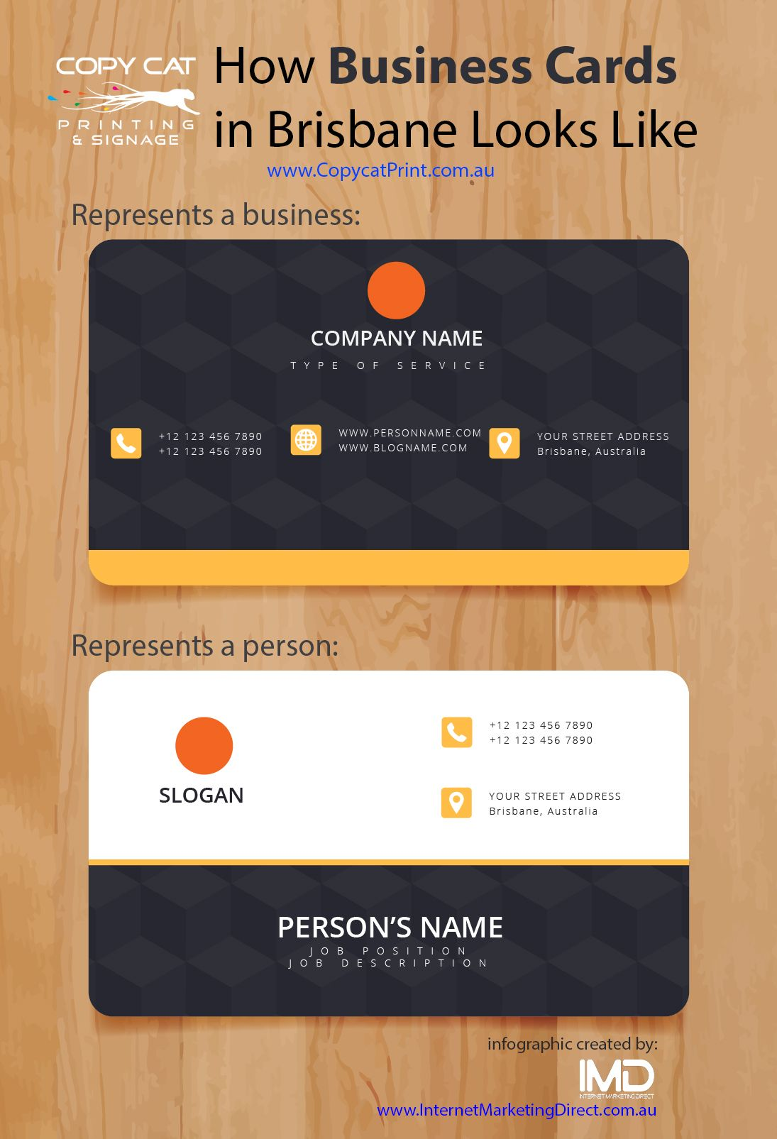 December - How Business Cards in Brisbane Looks Like | Business ...