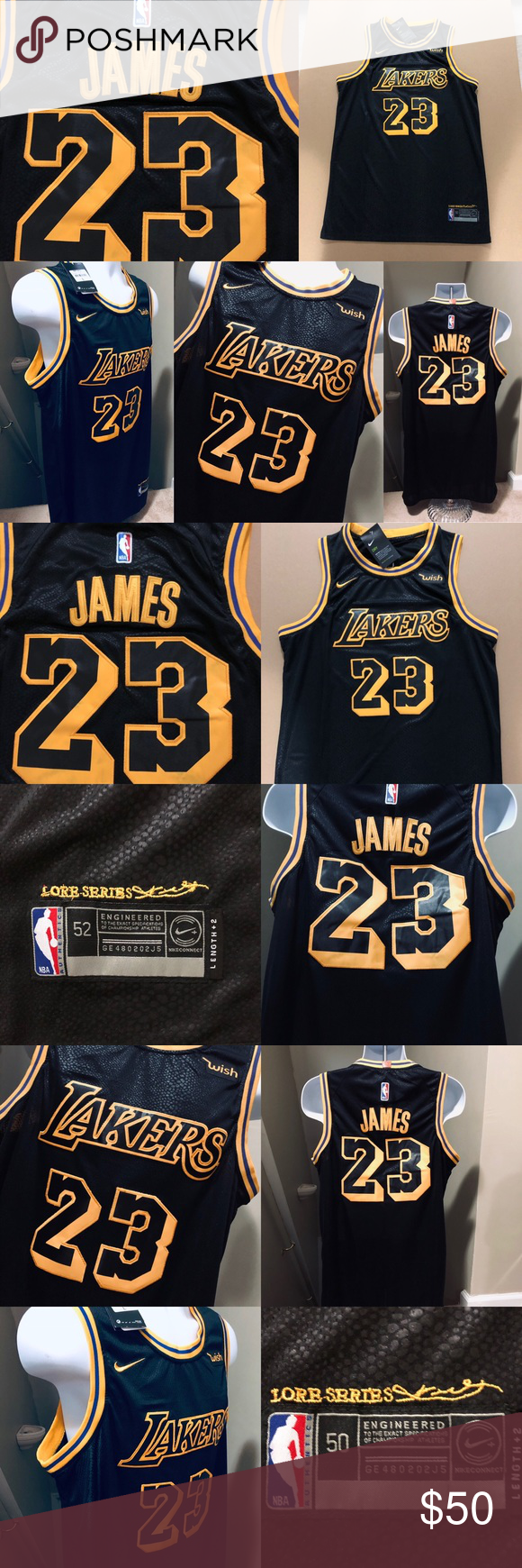 reputable site 6874a 88edc 🌲 LeBron James #23 LAKERS 2018 City Jersey 🏀 2018-2019 Los ...