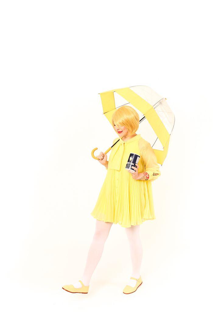 Halloween Costume Idea: Morton Salt Girl | Morton salt, Easy ...
