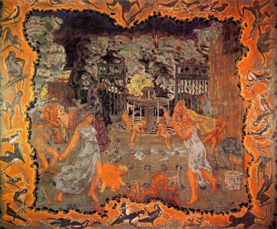 Pleasure Pierre Bonnard, 1906