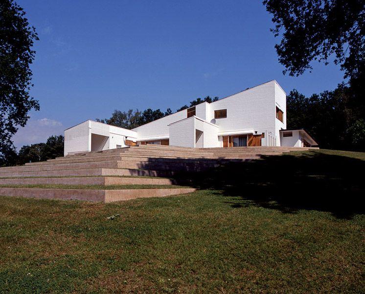 Exceptional Maison Louis Carré, Designed By Alvar Aalto Bazoches Sur Guyonne, France.  Unique Private House In France Designed By Alvar Aalto Goes Into Finnish  Ownership ...