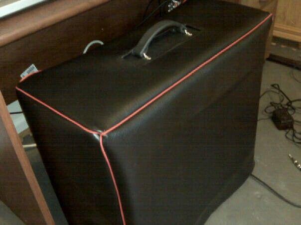 diy guitar amp cover stings n things diy guitar amp guitar amp sewing. Black Bedroom Furniture Sets. Home Design Ideas