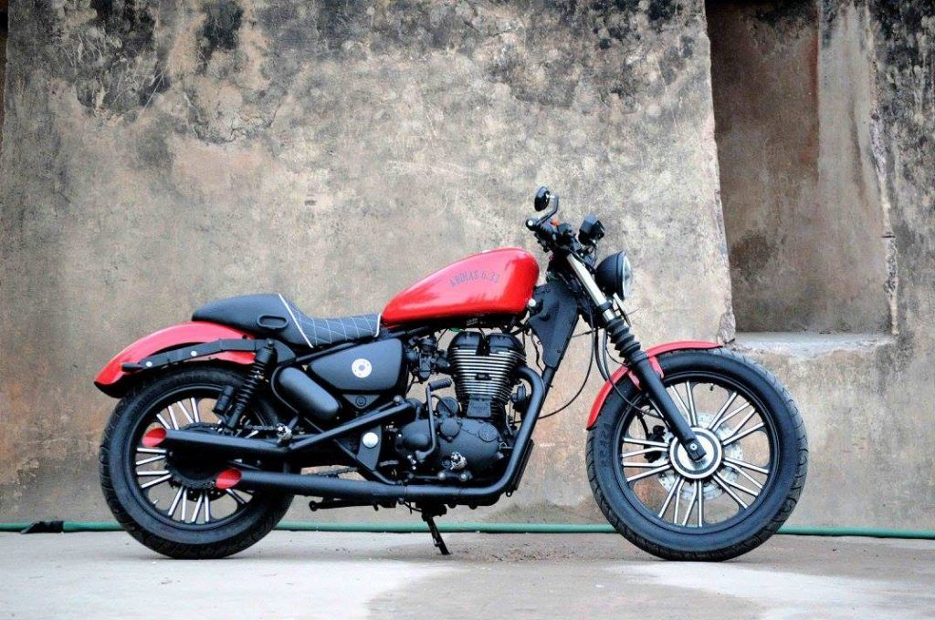 Royal Enfield Thunderbird 350 Abdias 6 33 By Puranam Designs Royal Enfield Modified Enfield Thunderbird Royal Enfield