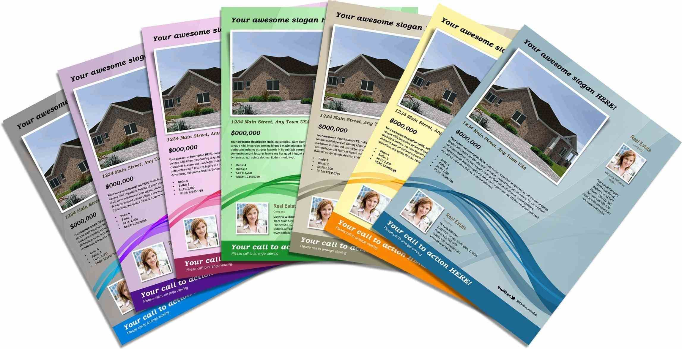 For Download From The Web They Easily Customizable Using Word - Real estate brochure template free download