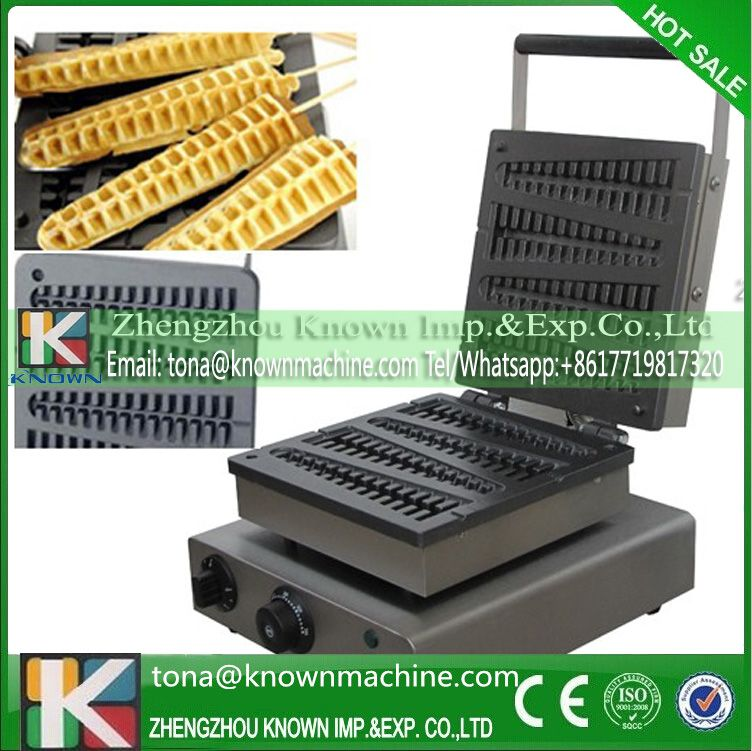 Voltage can be customized electric Honkong lolly waffle maker ...