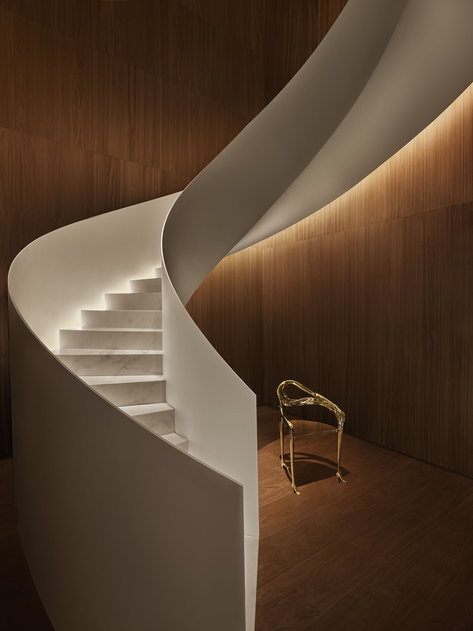 Best The Lobby S Spiral Staircase Staircase Design Stairs 640 x 480