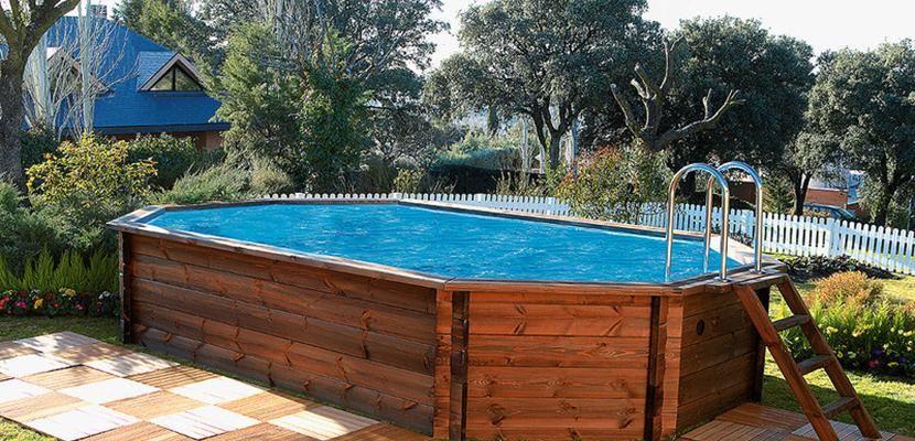 Detachable Wooden Pool Diy Swimming Pool Pool Cheap Pool
