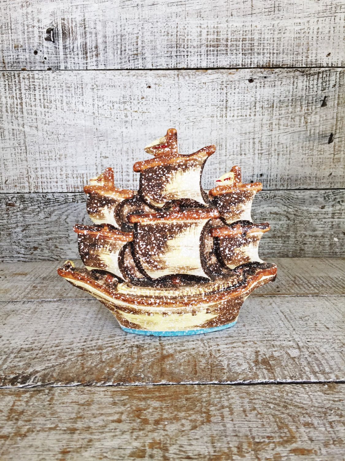 Vase ship hanging vase pirate ship wall pocket vase ceramic wall vase ship hanging vase pirate ship wall pocket vase ceramic wall vase hanging planter beach house decor mid century nautical decor reviewsmspy