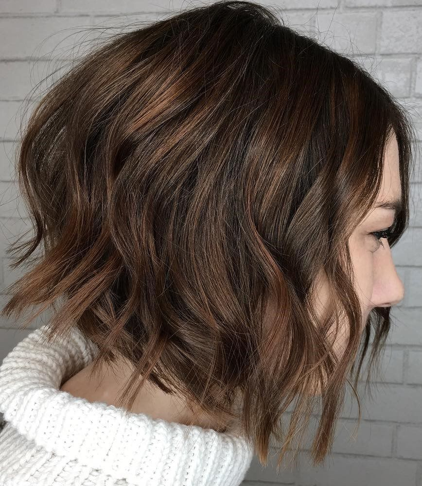 new short bob haircuts and hairstyles for women messy waves