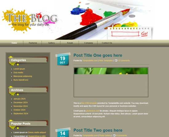 Php Website Templates School Collage Website Templates Html Website Templates Website