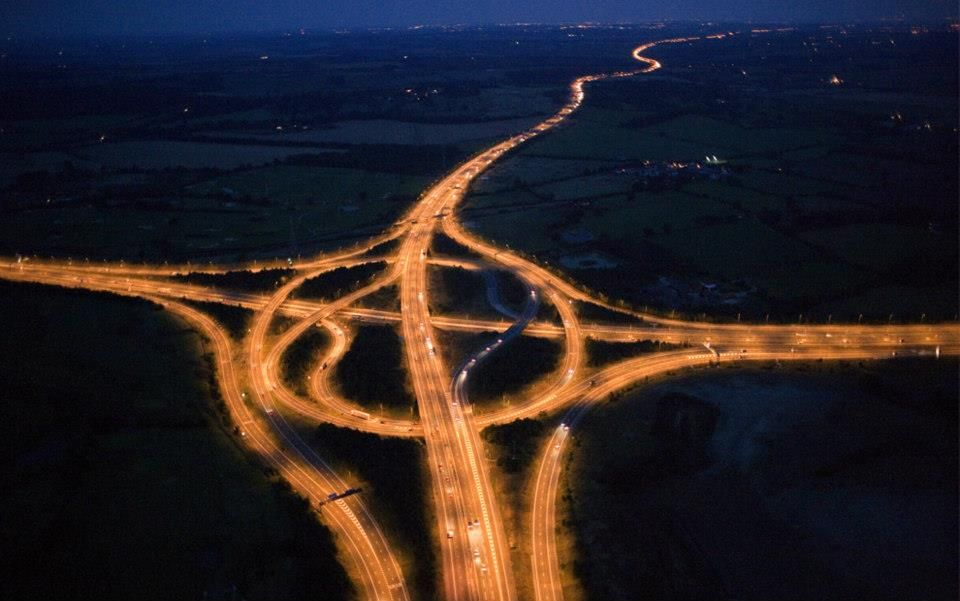The Highway London With Images London Night Beautiful Roads Aerial Photography