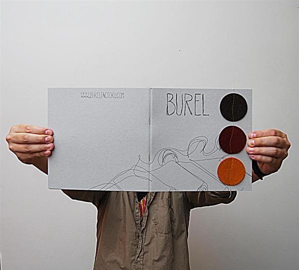 Burel | Burelfactory | Catalogo & Site on Behance
