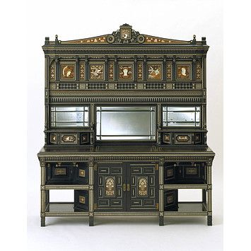 The Juno Cabinet (Cabinet), Bruce James Talbert 1878