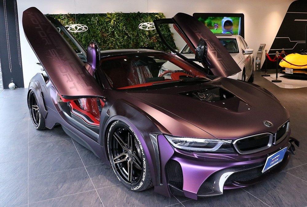 Bmw I8 Dark Knight Bmw Bmw Bmw I8 Cars
