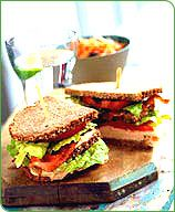 Recipes - Double Turkey Club Sandwich