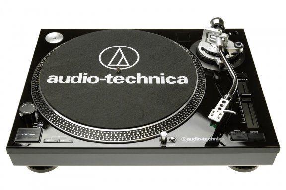 Audio-Technica AT-LP120-USB HC ‐suoravetoinen ammattilevysoitin AT95E -äänirasialla, musta – Vinyylisoittimet – DJ-laitteet – Musiikki – Verkkokauppa.com