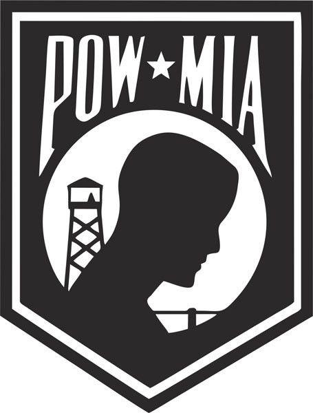 "5/"" POW MIA Vinyl Decal Military Die Cut Prisoner War Patriotic Bumper Sticker A"