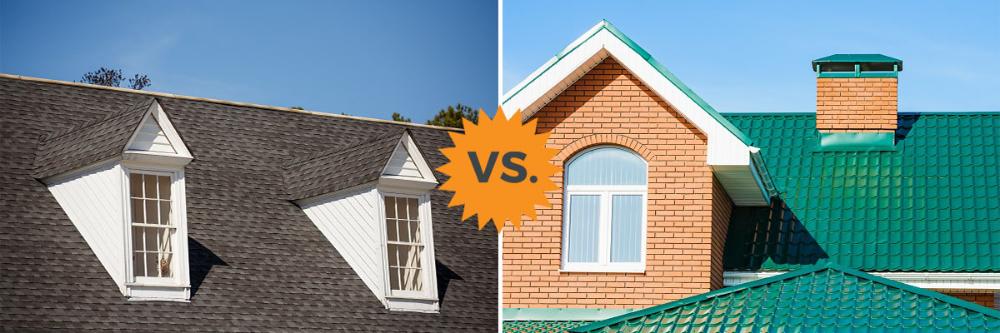2020 Metal Roofing Vs Asphalt Shingles Pros Cons Homeadvisor In 2020 Metal Roof Cost Metal Roof