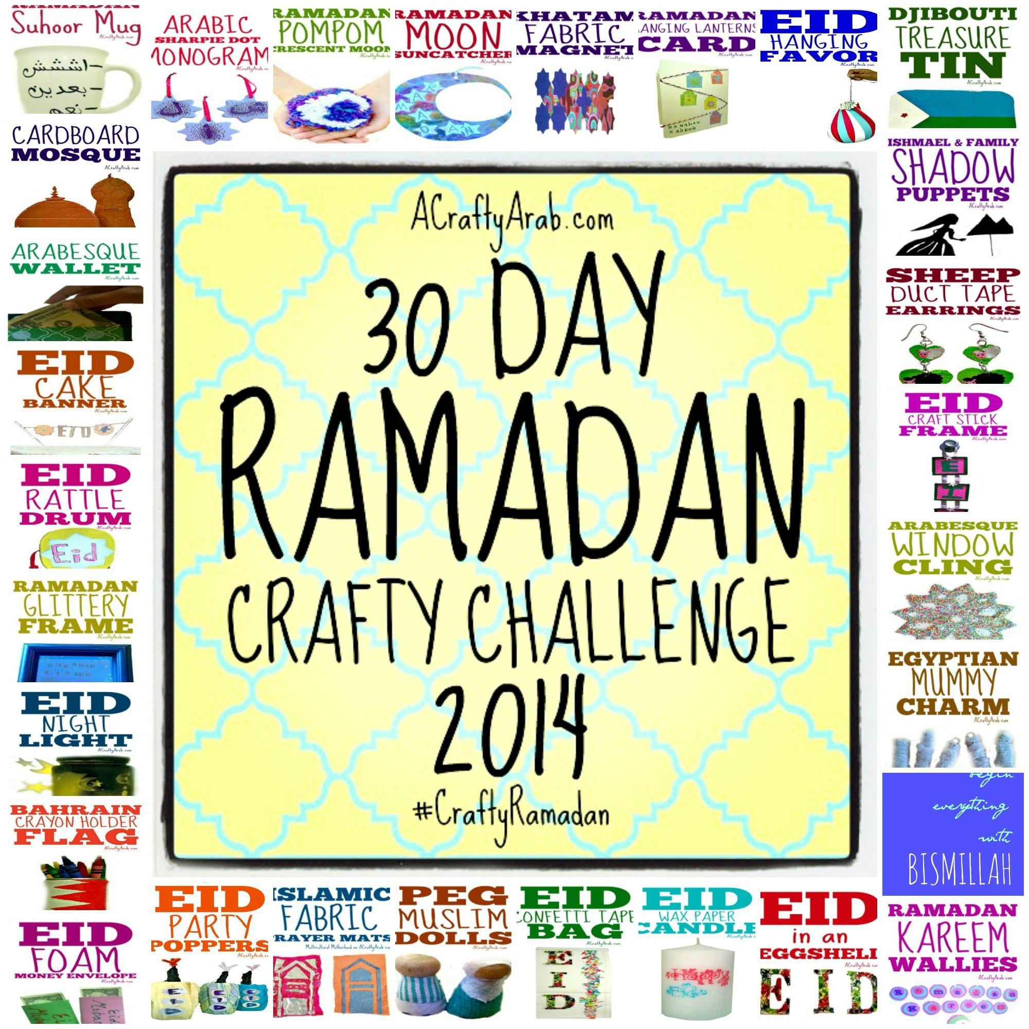 A Crafty Arab Ramadan Crafts 30 Day Challenge