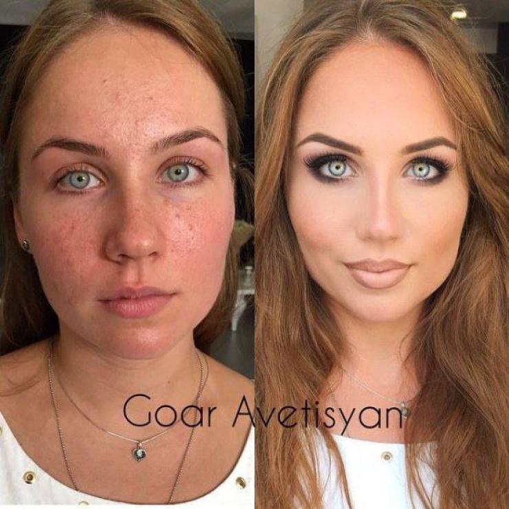 Avant et après La puissance du maquillage en 21 photos