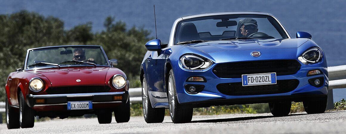 The New Fiat 124 Spider A Sports Car With An Iconic Design Fiat