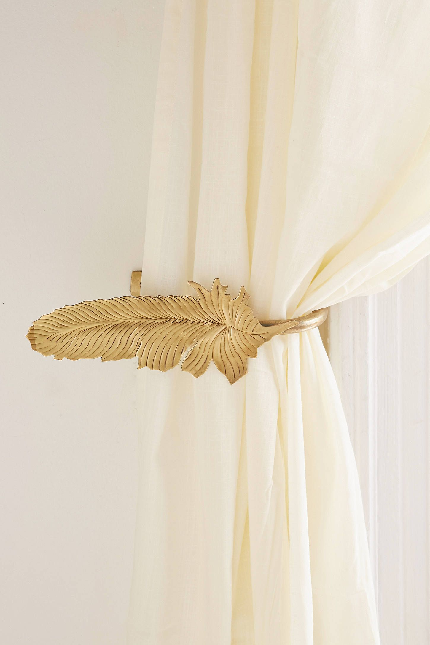 Slide View 1 Magical Thinking Feather Curtain Tie Back