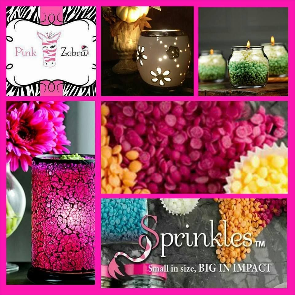 Pink Zebra Sprinkles smell so good and you can use them in many ways!