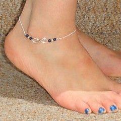 Moda hecha a mano Número 8 Patrón de aleación de pulsera par... – MXN $ 50.56