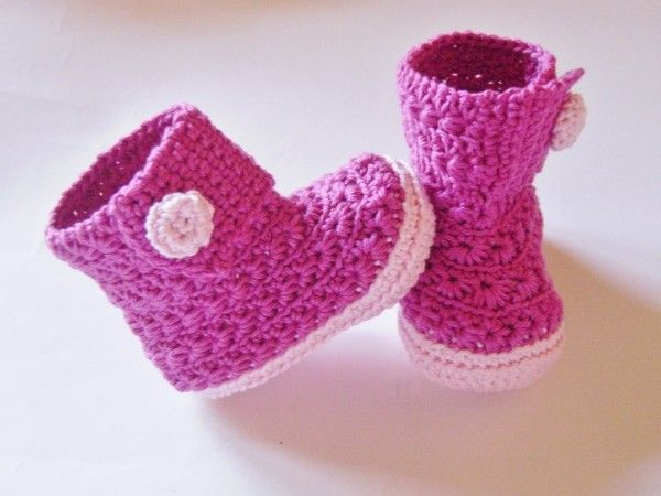baby booties selber h keln babyschuhe diy stricken und h keln pinterest geh kelte. Black Bedroom Furniture Sets. Home Design Ideas