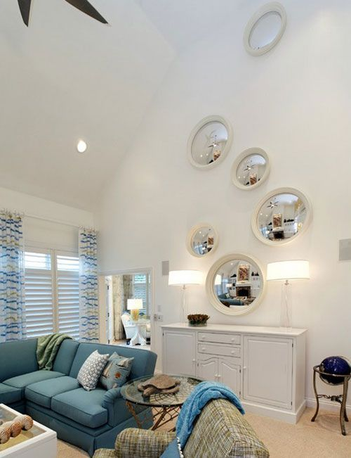 24 Ideas On How To Decorate Tall Walls Remodelaholic Tall Ceiling Living Room Vaulted Ceiling Living Room High Ceiling Living Room #tall #ceiling #living #room