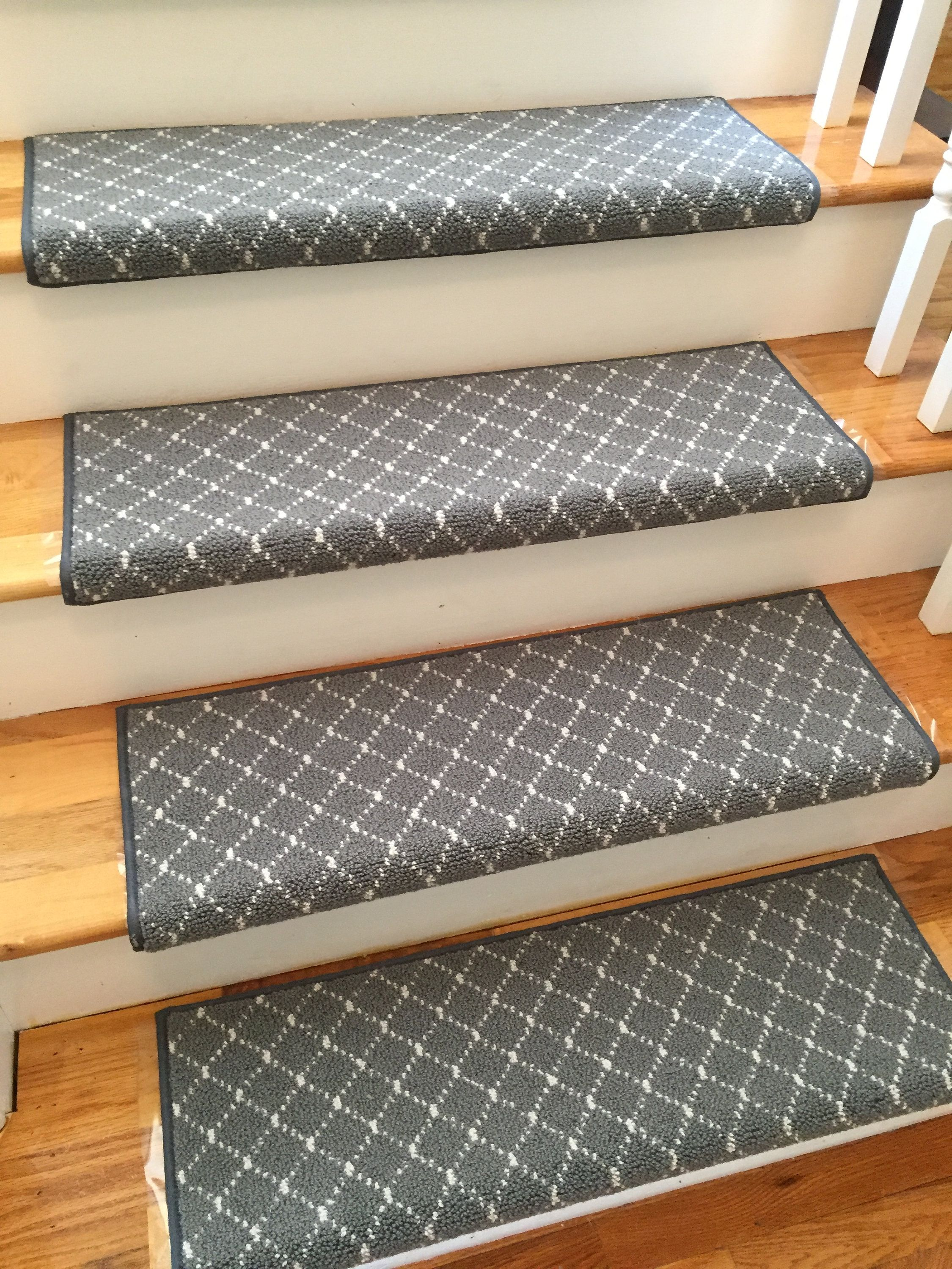 Luxury Distinctive Storm 100 New Zealand Wool True Bullnose Padded Carpet Stair Tread Runner Style Comfort And Safety Sold Each Carpet Stair Treads Carpet Stairs Stair Treads