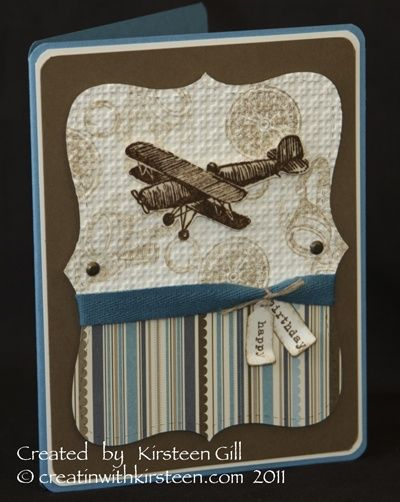 Plane and SImple card- guy | http://creativehandmadecollections.blogspot.com
