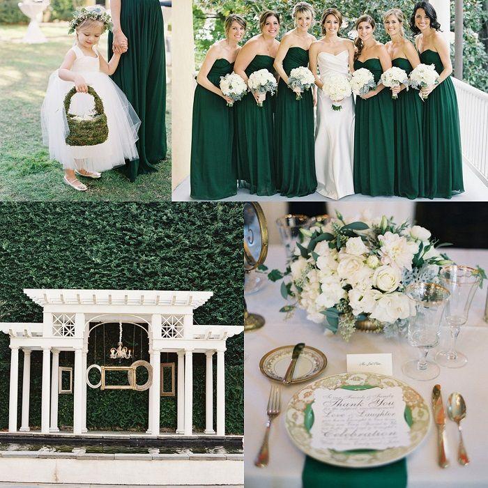 emerald and green weddings - Google Search | mY dREAM wEDDINg ...