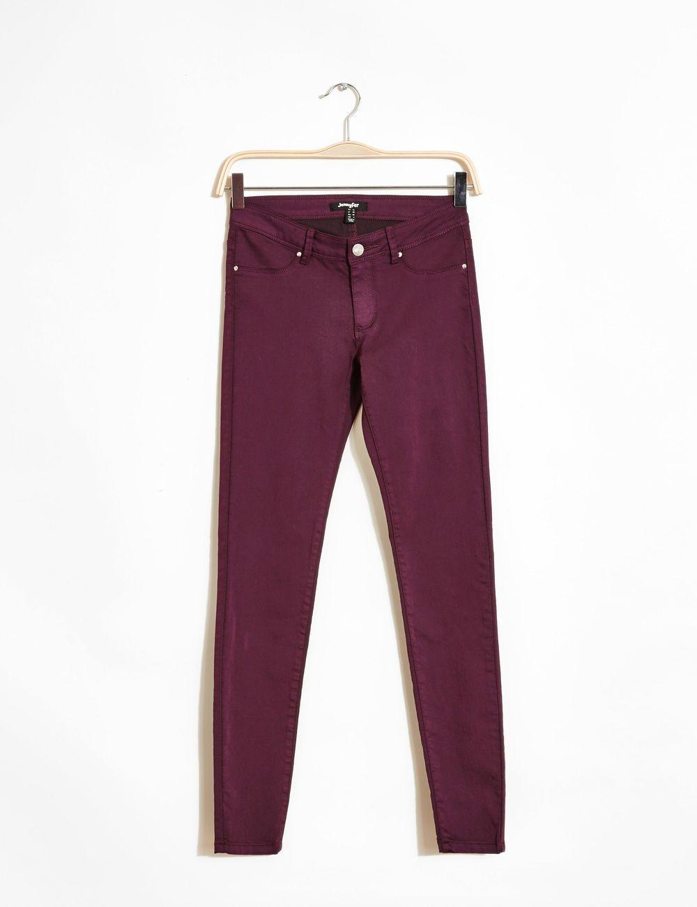wholesale outlet free delivery shoes for cheap Pantalon jegging prune woman • Jennyfer | Wardrobe ...