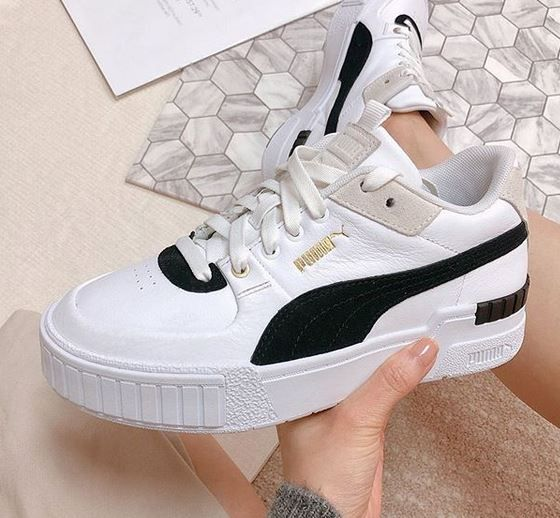 sneakers blanches femme adidas puma