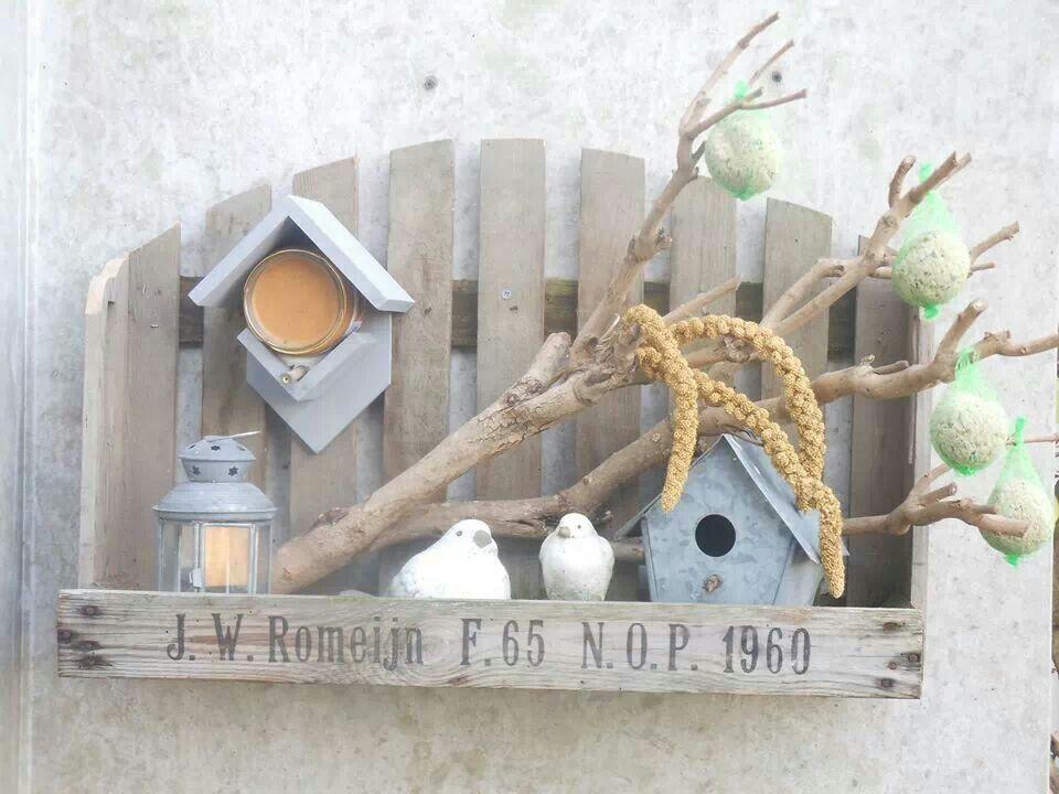 Voor de vogels