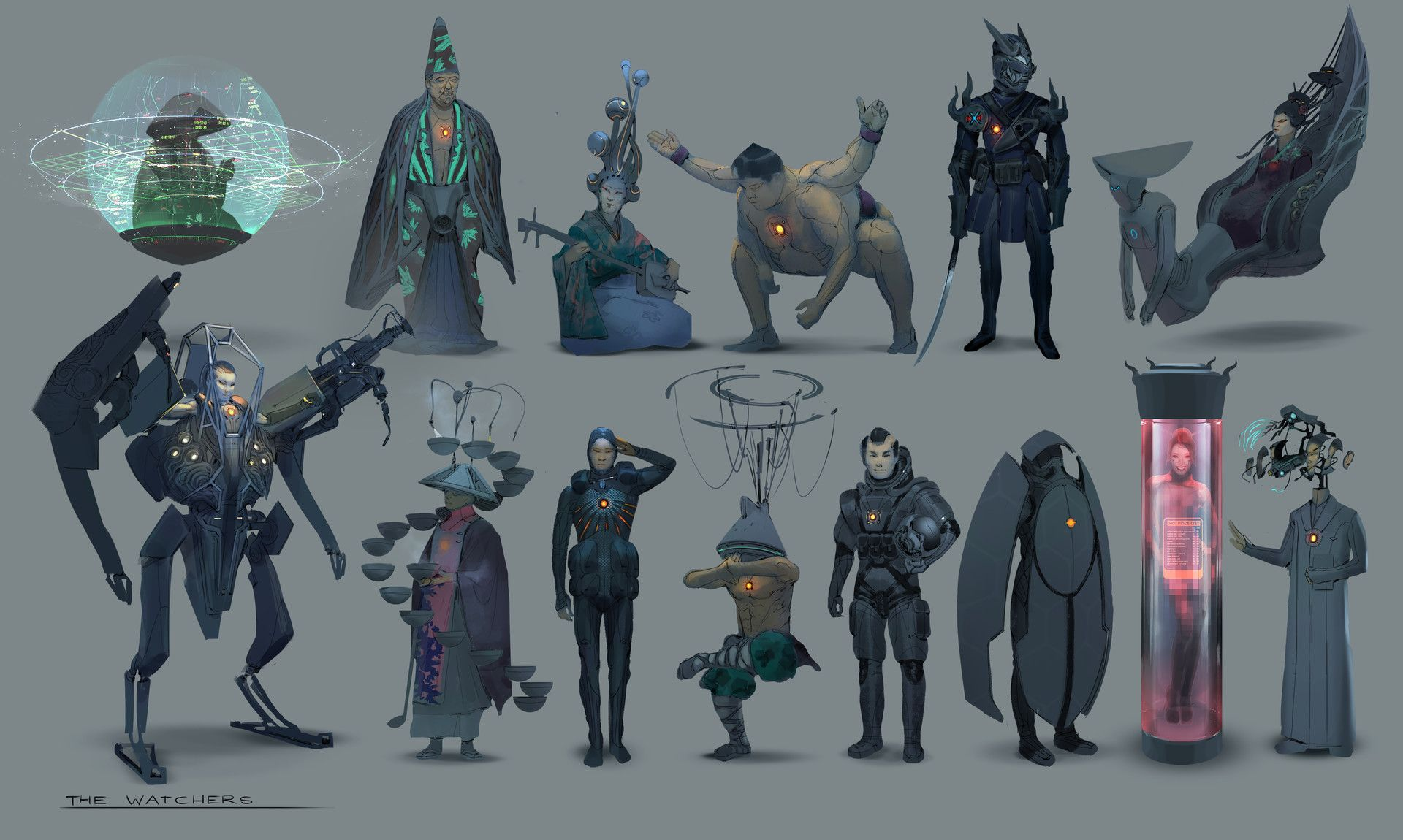 ArtStation - Project RISE color sketches, Simon Dubuc