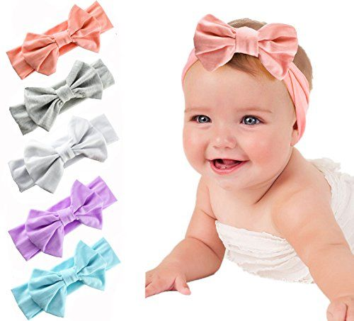 Hair Band Turban Bow Knot Newborn Girls Headband Children Head Wraps H