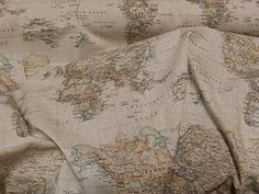 Vintage brown world map atlasglobe print fabric curtains roman vintage brown world map atlasglobe print fabric curtains roman blinds cushions map fabric fabric map of the world world fabric brown fabric maps gumiabroncs Images