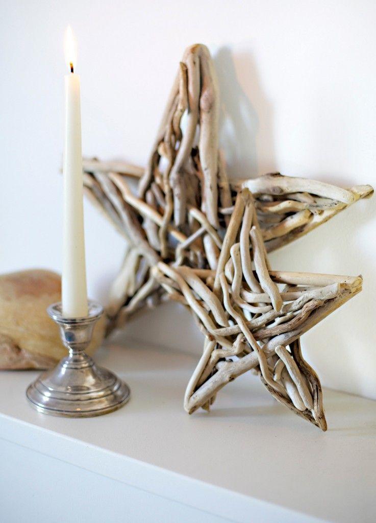 Stelle con bois flott stelle di legno legno e idee legno for Creare oggetti per la casa